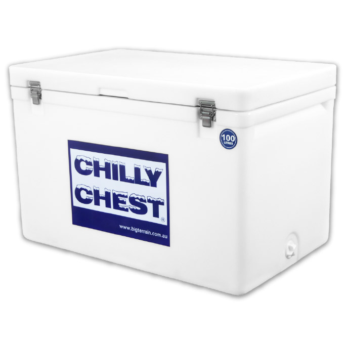 Techniice Chilly Chest Ice box  - 100L - White