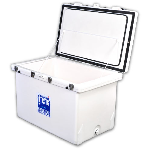 Techniice Classic Ice box  - 200L Square - White