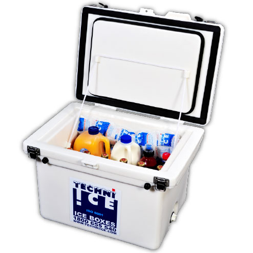 Techniice Classic Ice box - 40L - white
