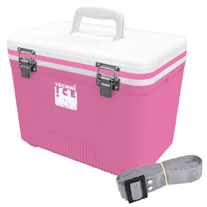 Compact Series Ice Box 12L White-Pink