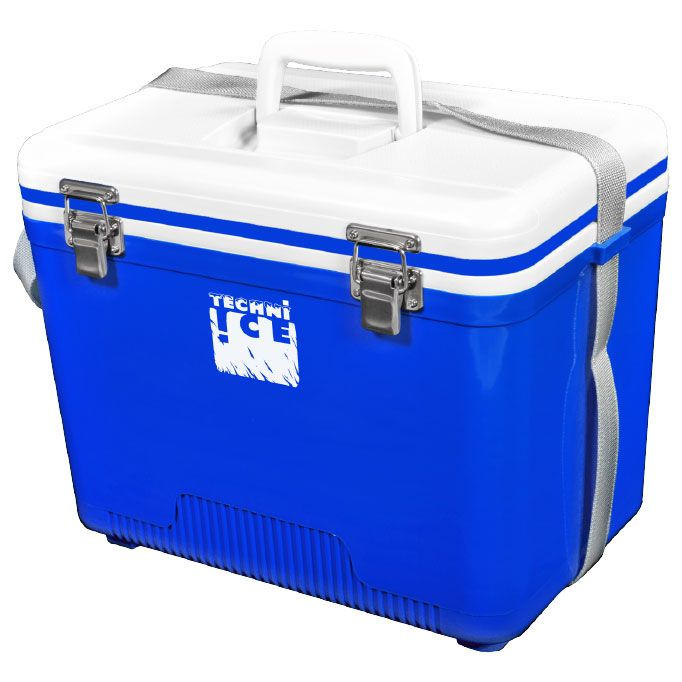 Compact Series Ice Box 18L White/Blue WAS $94
