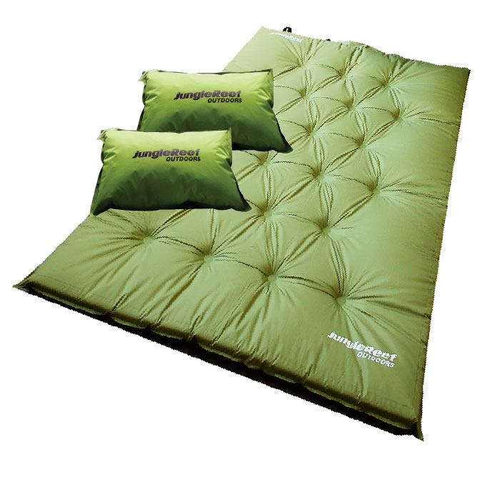 Self Inflating Mattress & Pillow - Double (MAT2)