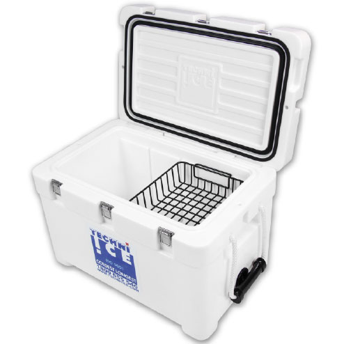 Techniice Signature Series Icebox 45L - White - World's No.1 Ice Keeper!